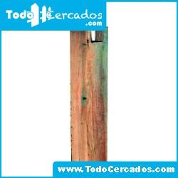 Poste pecho palomo para pérgola 12 X 12 X 250 cm. de largo