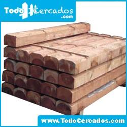 Traviesa madera tratada de 120 X 20 X 10 cm.