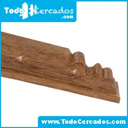 Canecillo de hormigón imitación a madera serie Gredos