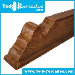 Canecillo de hormigón imitación a madera serie Málaga