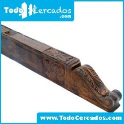 Canecillo de hormigón imitación a madera serie Teruel