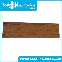 Placa entretecho de hormigón imitación a madera serie Hervas