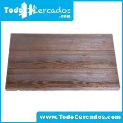 Placa de hormigón imitación a madera serie Guadalajara