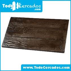 Placa de hormigón imitación a madera serie Gredos