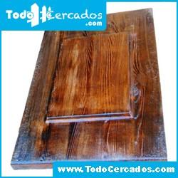 Placa de hormigón imitación a madera serie Teruel