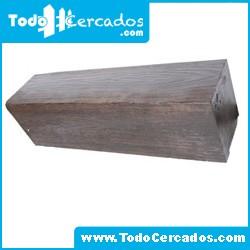Metro lineal de viga de hormigón imitación a madera San Gil 15 X 20 cm. Hasta 4 metros.