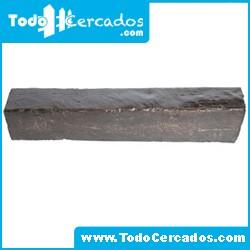 Metro lineal de viga de hormigón imitación a madera Santa Bárbara 15 X 18 cm. Hasta 4 metros.