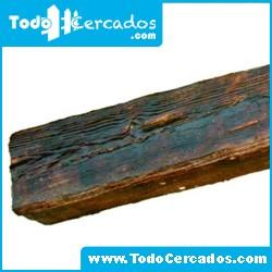 Metro lineal de viga de hormigón imitación a madera Plasencia 23 X 17 cm. Hasta 4 metros.