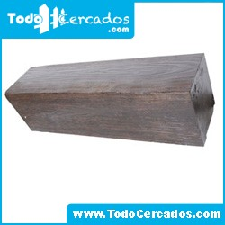 Metro lineal de viga de hormigón imitación a madera San Gil 15 X 25 cm. Hasta 4 metros.