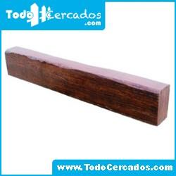 Metro lineal de viga de hormigón imitación a madera Guadiana 15 X 25 cm. Hasta 2 metros.