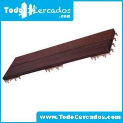 Baldosas de madera bambú 90X30X3.3 cm. (4 unidades)