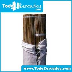 Tutor de bambú Bala 50 unidades 3 m. diámetro 30-32 mm.