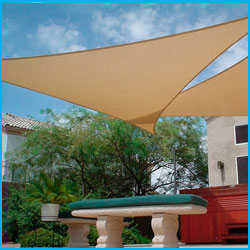 Toldo Vela Triangular 3,6m.