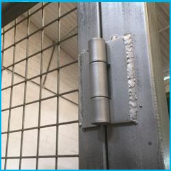 Puerta vehicular simple torsión 7X2m alto galvanizada